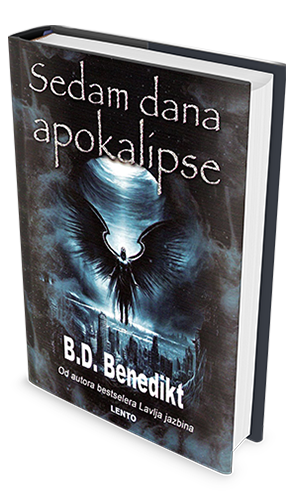 seven days to Apocalypse Serbian book cover